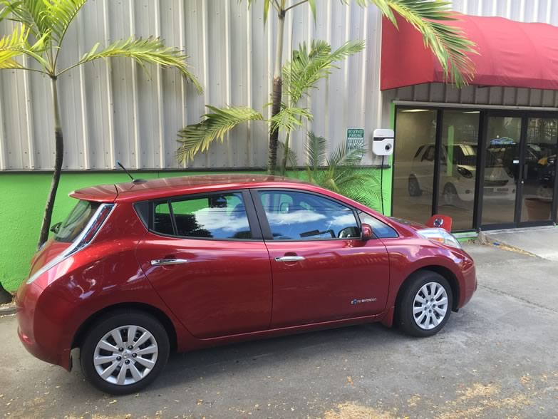 Electric Cars in St. Thomas US Virgin Islands